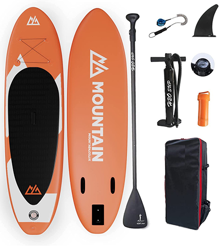 MOUNTAIN Inflatable Paddleboard iSUP