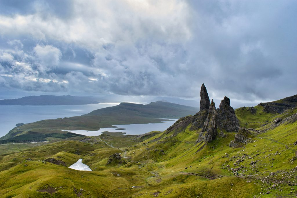 Epic rock fingers of the Old Man of Storr