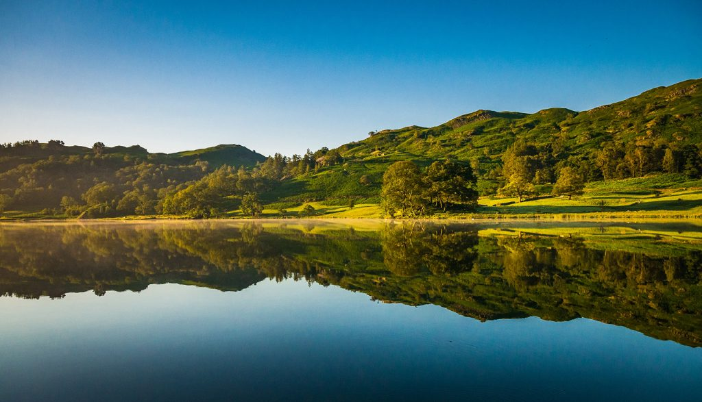 Rydal Water and Cave