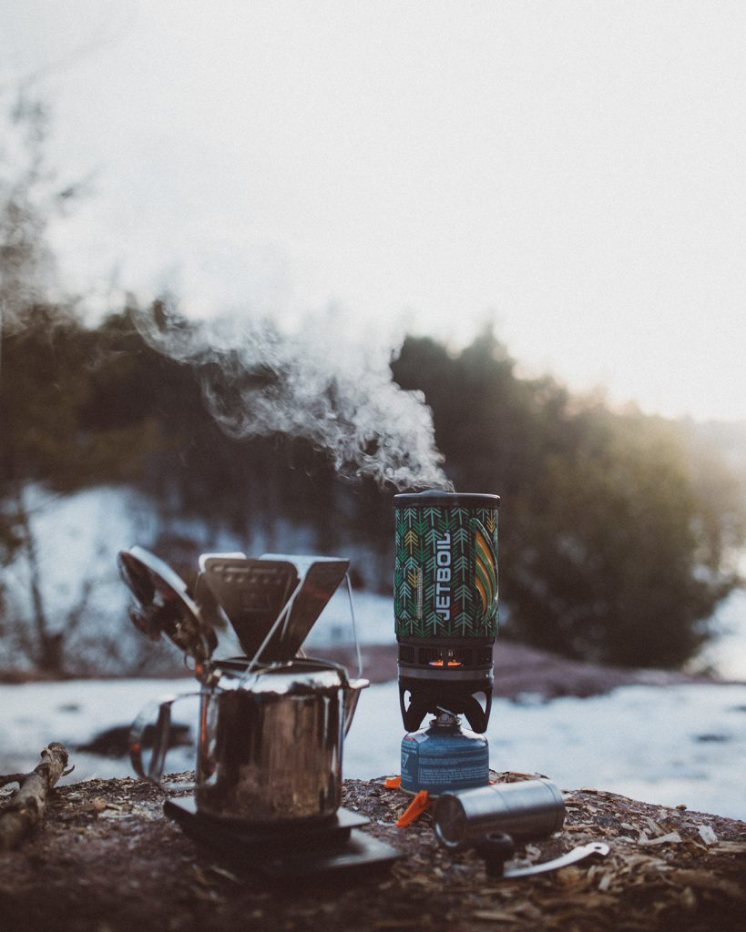 Camping stoves are essential items for wild camping cooking