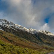 The lofty range of the Cairngorms