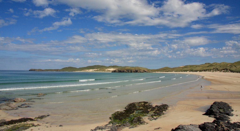 The gorgeous beaches of Durness