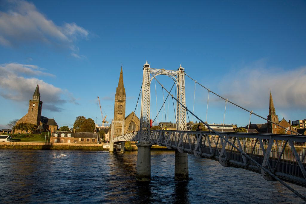 The historical city of Inverness