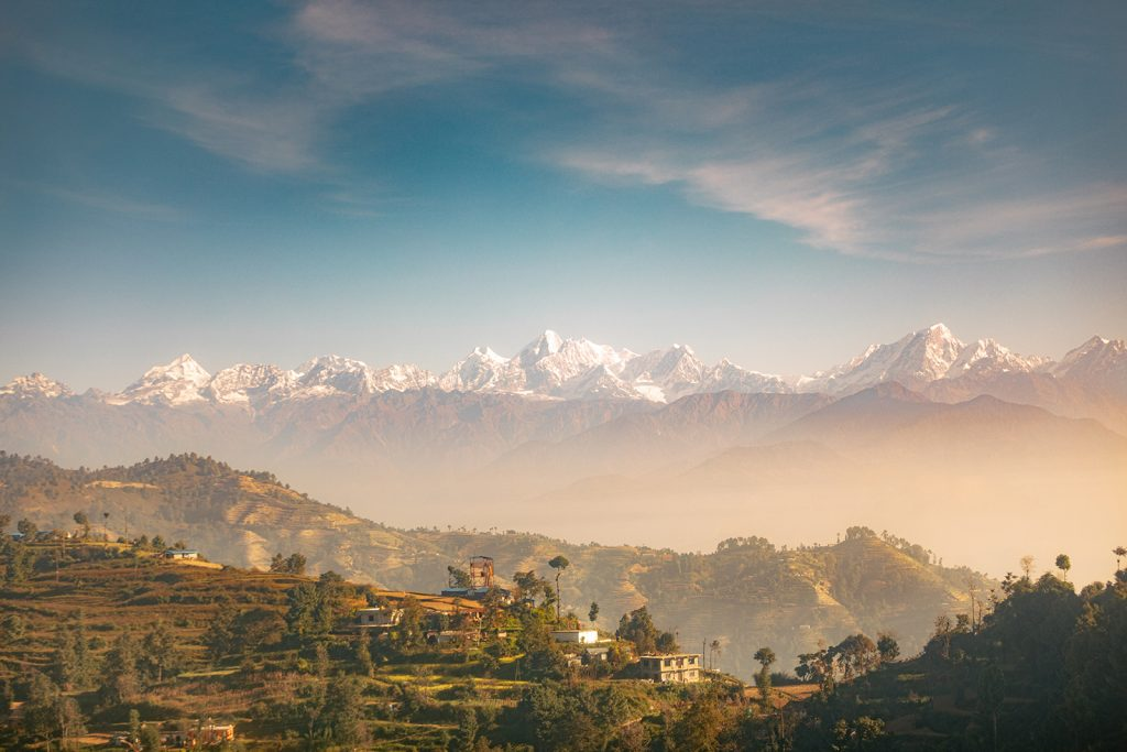 The Himalayas in Nepal
