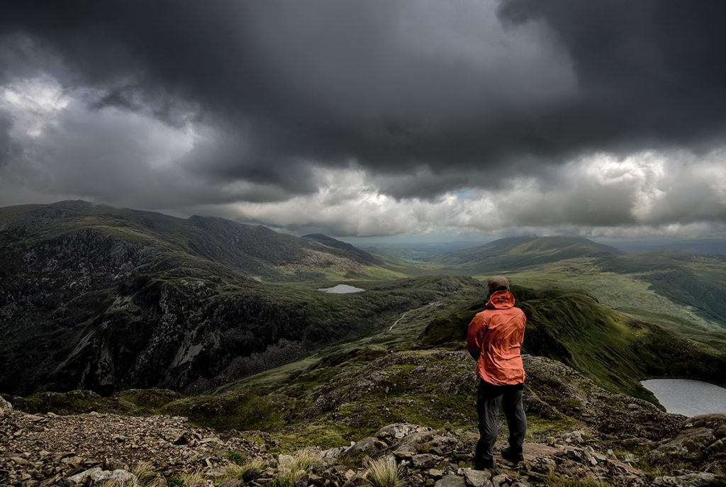 Epic viewpoints from the Welsh 3000 mountain range