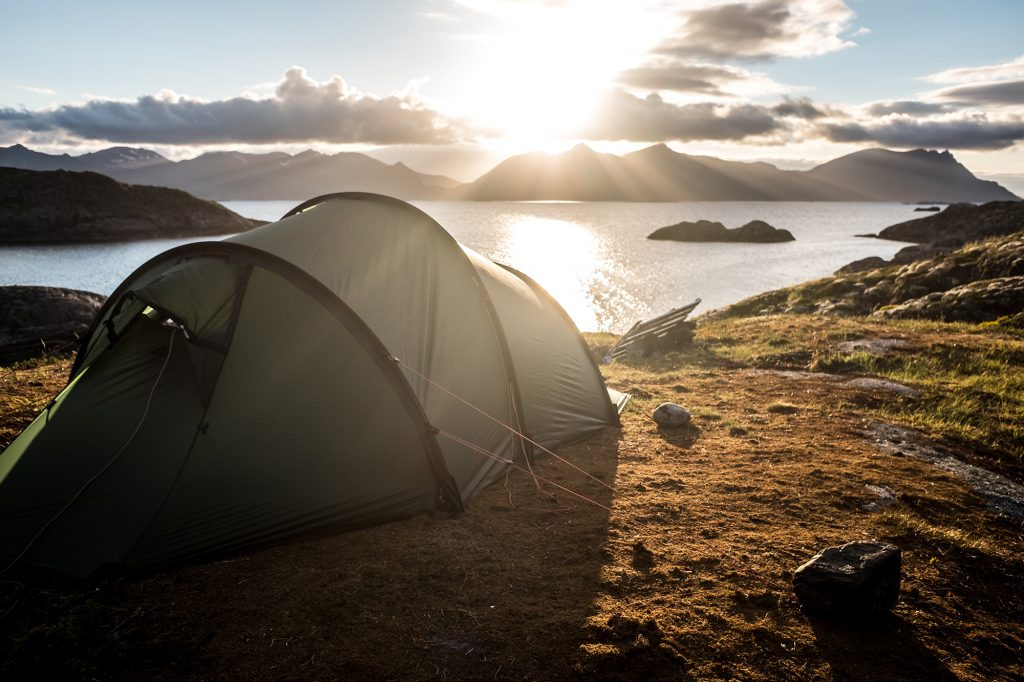 Wild Camping on the North Coast 500 route