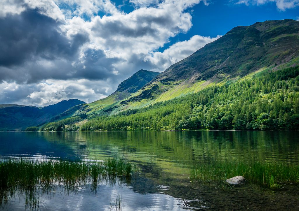 Epic scenery of the Lake District