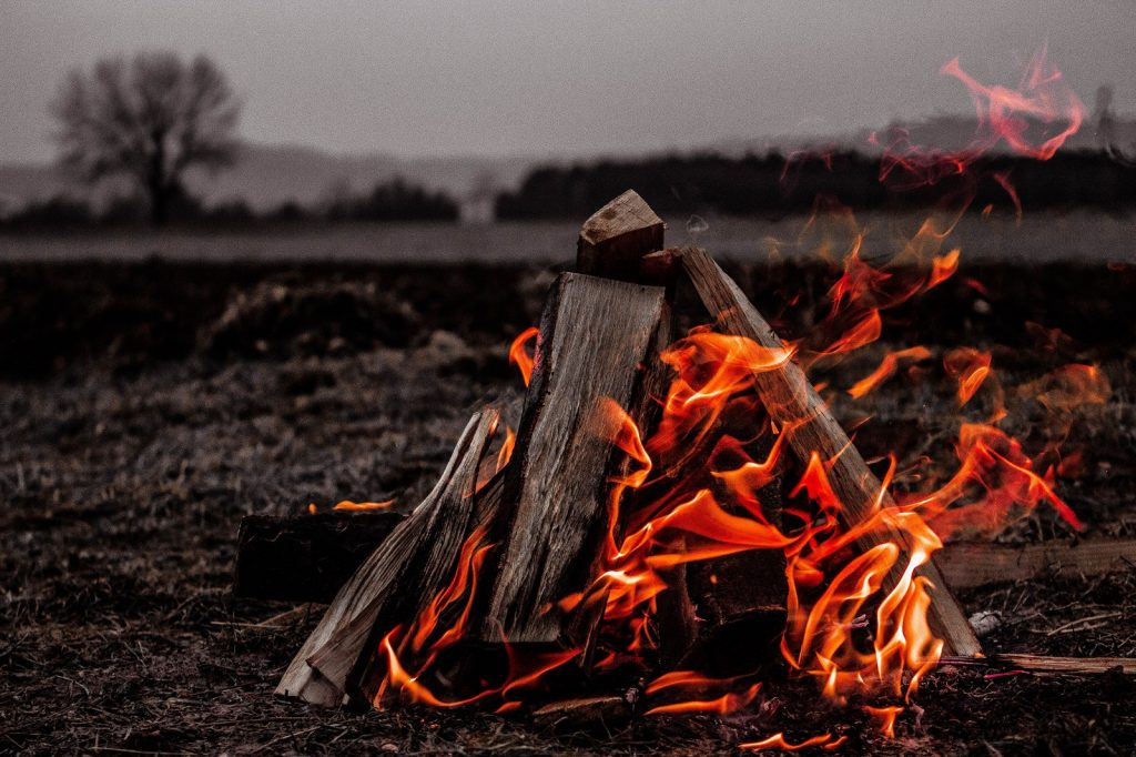 Can you make a campfire from the items in your bug out bag?