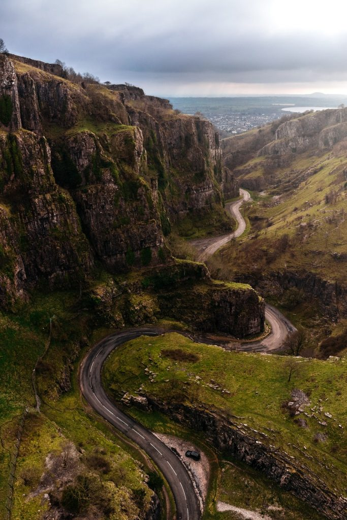 The epic Cheddar Gorge in Somerset