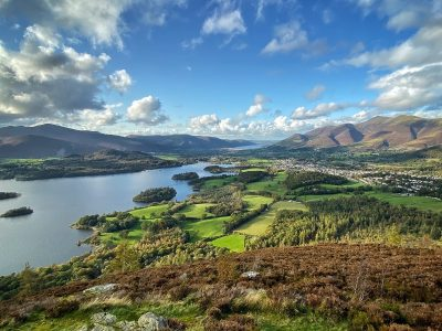 The amazing Derwent Water in the Lake District