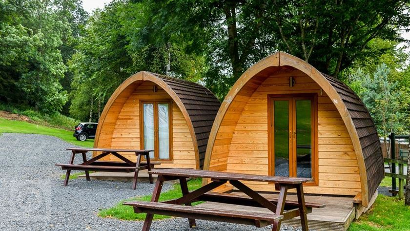 Lowther Holiday Park camping pods