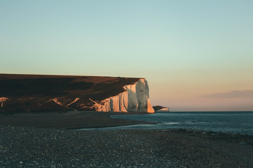 The Seven Sisters walk, South Downs