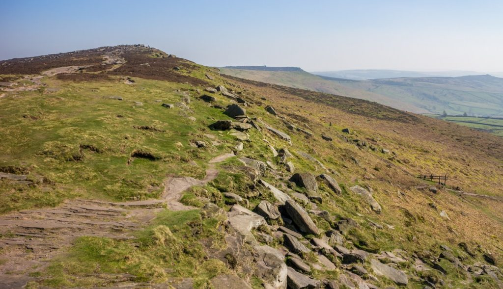 Stanage Edge in the Peak District