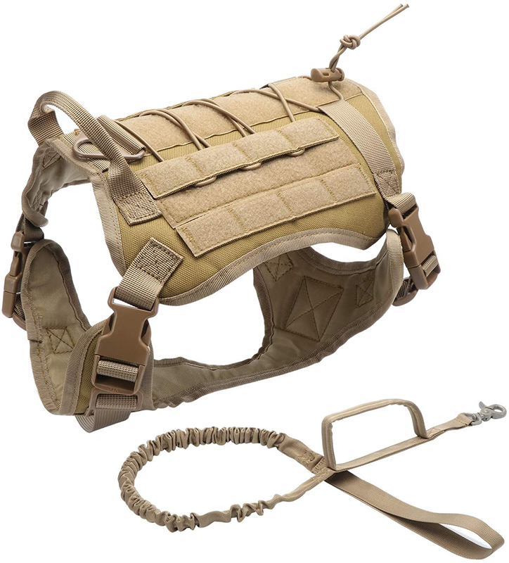 Tactical Dog Harness and Vest by Generic Brand