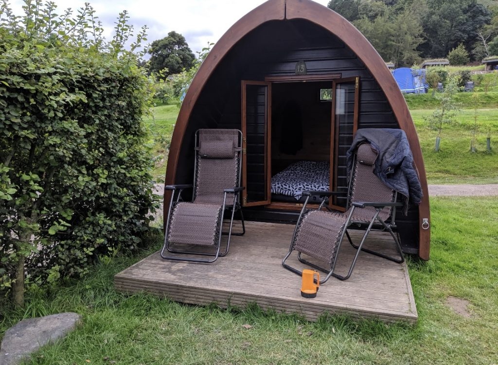 The Quiet Site Camping Pods