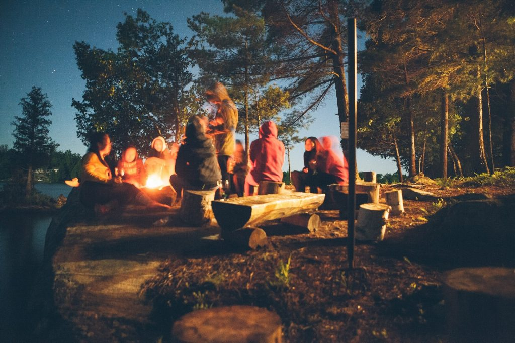 A campfire is a brilliant thing to enjoy