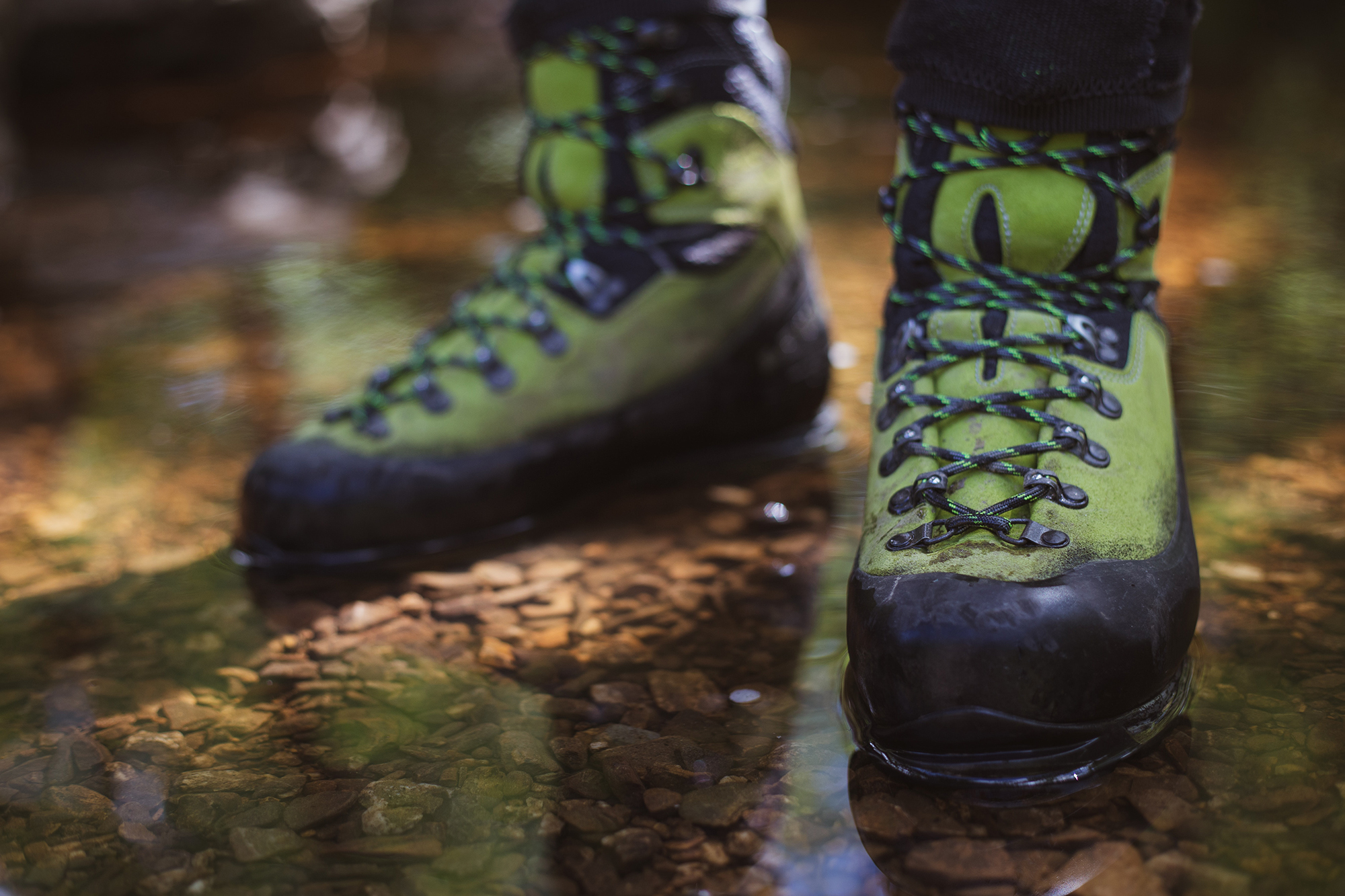 A pair of hiking boots is a must for regular walkers