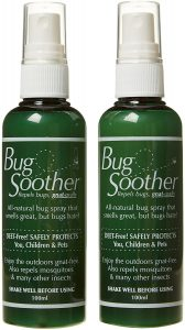 Bug Soother All Natural Mosquito Spray