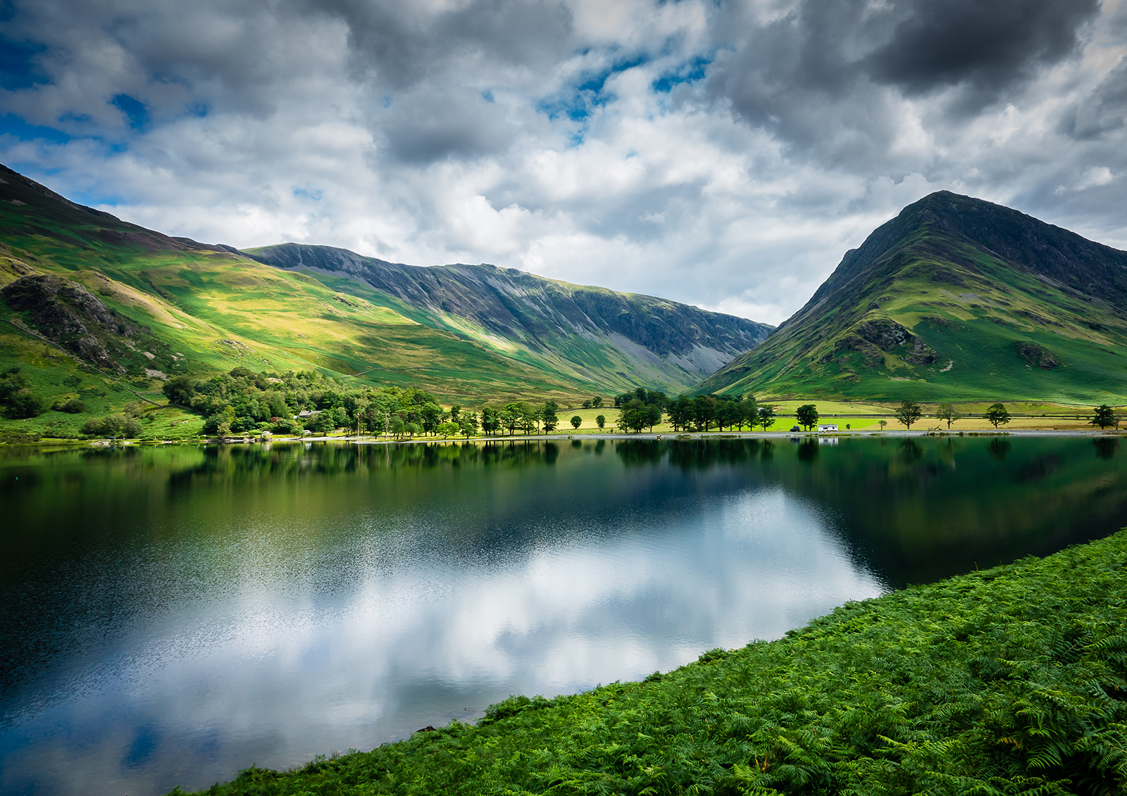 The gorgeous Buttermere in the Lake District