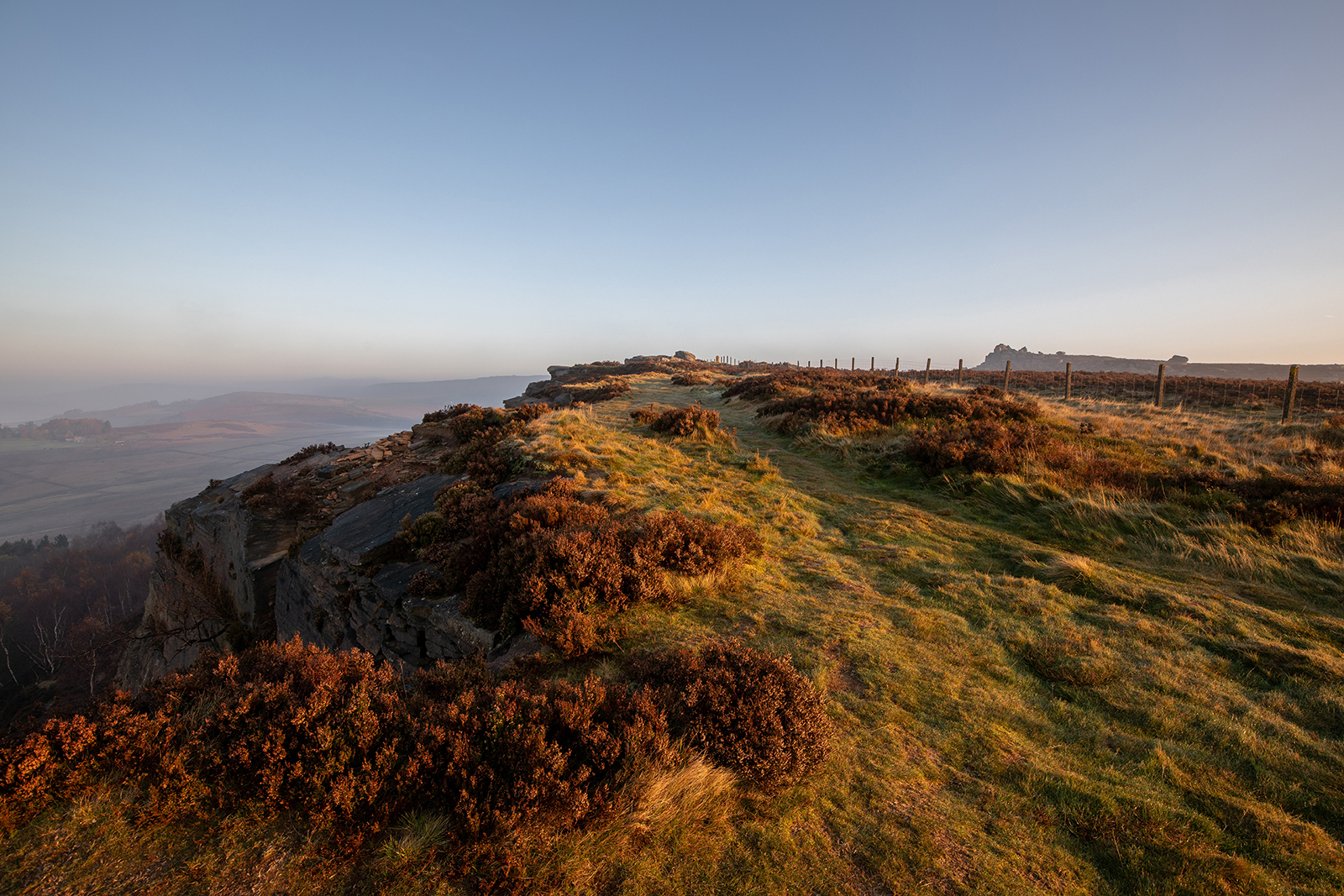 Stunning landscapes of the Peak District