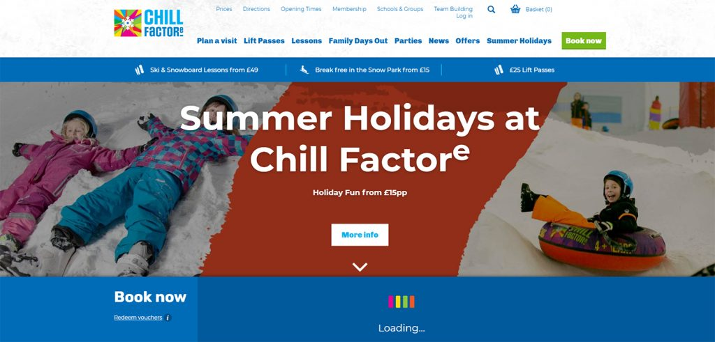 Chill Factore – Manchester
