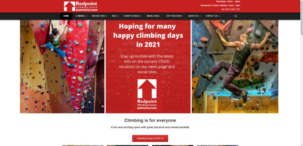 Redpoint Climbing Centre