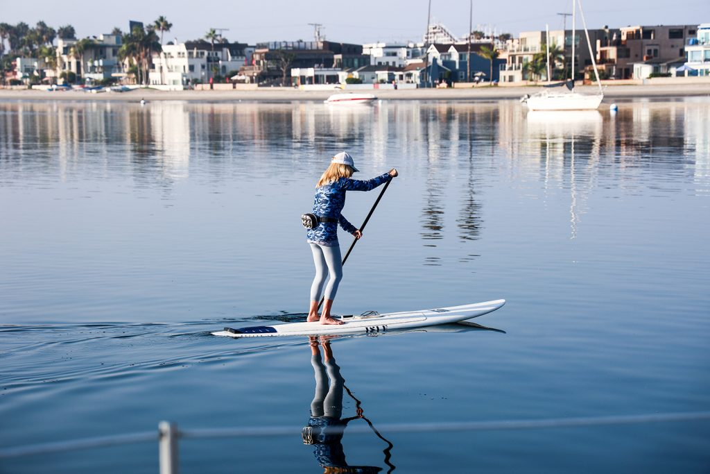 The fin is an integral part of a paddleboard