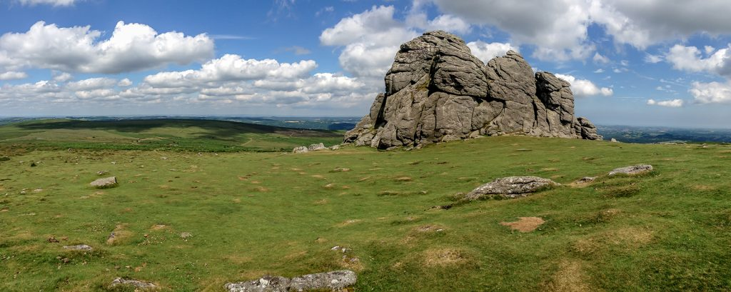 The iconic rock formation of Hay Tor