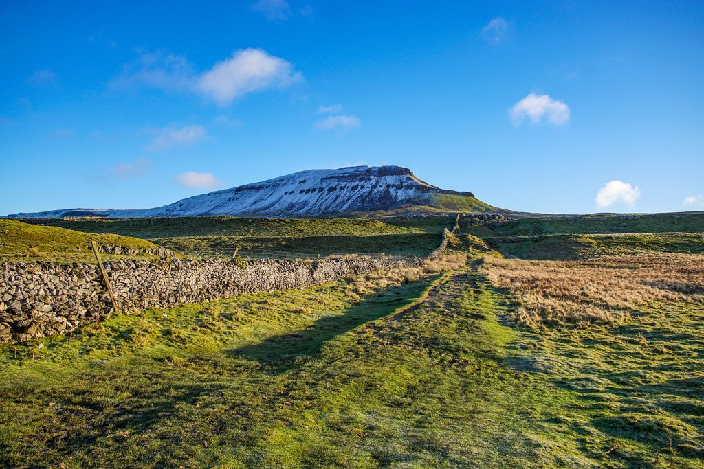 Pen-y-Ghent – part of the Yorkshire Three Peaks